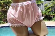 #2009   Tricot Panties with Lace & Colors Option