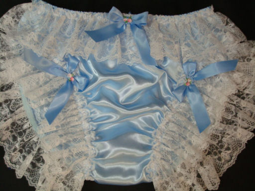 DL-6  Satin & Lace Satin Panties