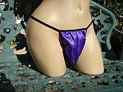 THG-D2 SATIN TANGA PANTIES