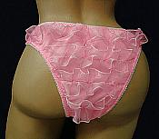 RL-3  Spandex rumba back tanga Panties