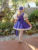 """LOLITA 01""  PURPLE 3 PC. Dress Set"