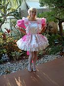 PIK-3 Hot Pink French Maid Dress & Maids Cap