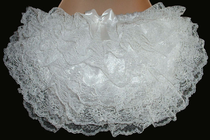 RH14  WHITE Rhumba Panties