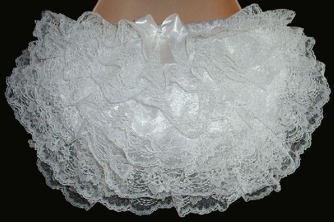 RH14  WHITE Rhumba Panties