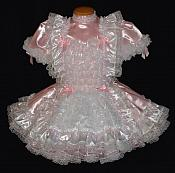 Lok-12 Lockable PINK French Maid Dress