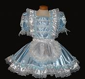 Ribbon & Lace French Maid Dress
