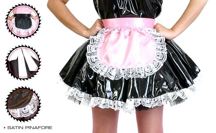 sat950  French Maid Pinafore (many color combination)