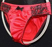 #LOW-8 Tricot Nylon Bikini Panty
