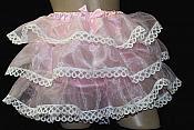 #RH16 Adult Sissy Organza Rumba Ruffle Panty