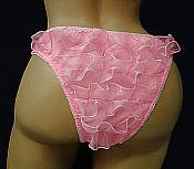 RL-3  Spandex rumba back tanga Panties