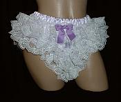 2L1W-1 Lavender Ruffled Panty