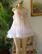 #GR-01 Baby Doll Dress Pale Pink