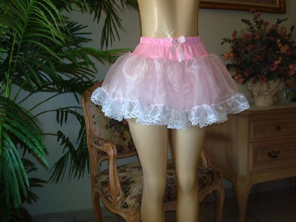 1708 Ruffles Mini Petti-Skirt